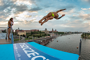 Water Show Szczecin High Diving